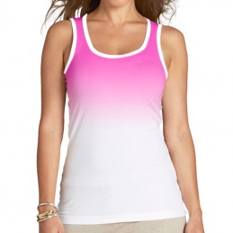 Camiseta de tirantes Lady in pink