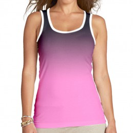 Camiseta de tirantes Lady in Gray
