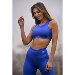 TOP FITNESS AZUL ELECTRICO...
